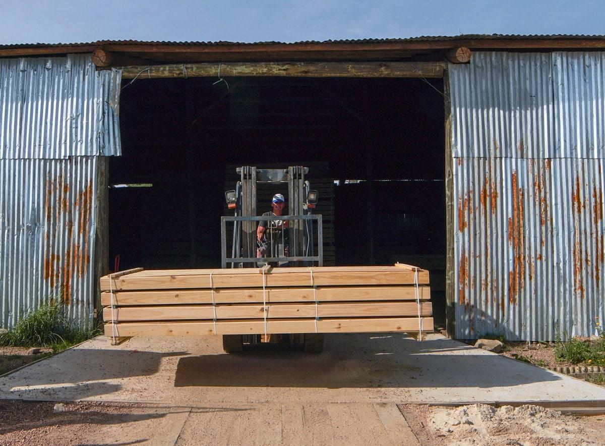 Tablas de madera en Uruguay